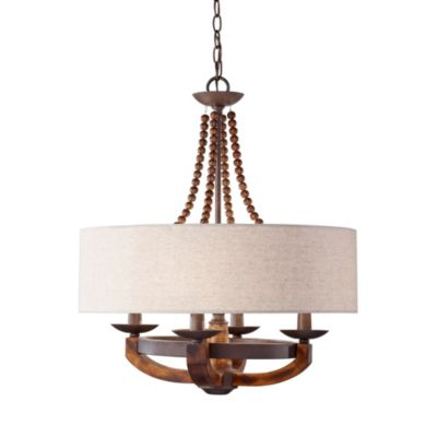 Feiss® Adan 4-Light Single Tier Chandelier