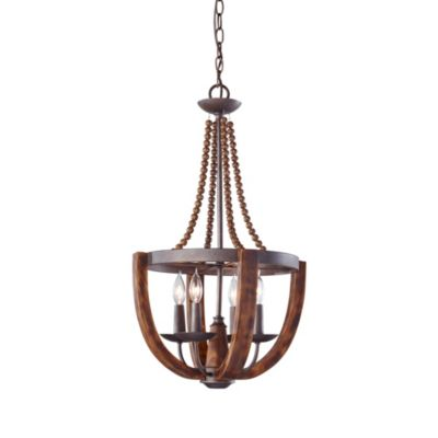 Adan 4-Light Single Tier Chandelier