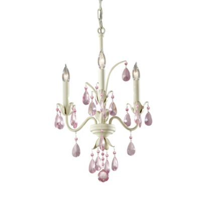 Feiss® Charlene 3-Light Chandelier in Ivory