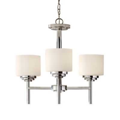 Feiss® Malibu 3-Light Single Tier Chandelier