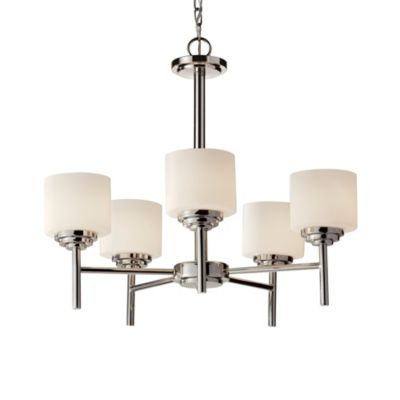 Nickel Tier Chandelier
