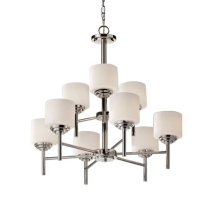 Feiss® Malibu 9-Light Multi-Tier Chandelier