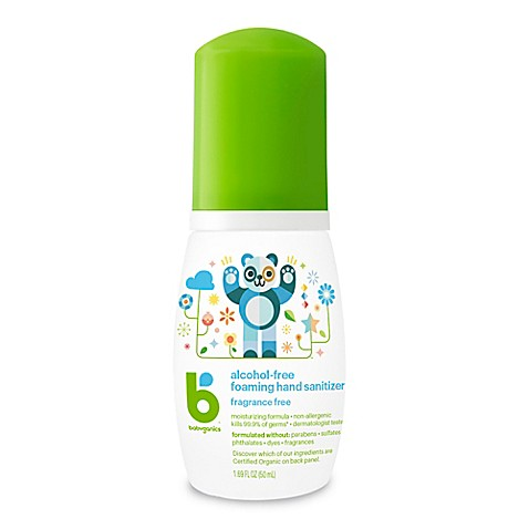 BabyGanics® The Germinator 1.69 oz. Fragrance-Free Disposable Foaming Hand Sanitizer