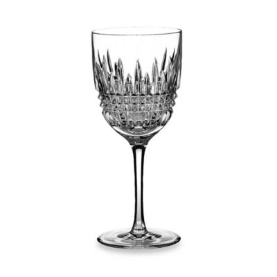 Waterford® Lismore Diamond Platinum Goblet (Set of 2)