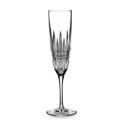 Waterford® Lismore Diamond Platinum Flute (Set of 2)