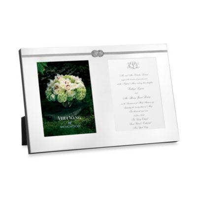Vera Wang Wedgwood® Vera Infinity Double Invitation Frame