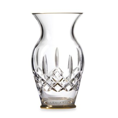 Waterford® Lismore Gold 8-Inch Vase