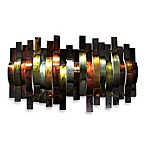 Convex Metal Ribbons Wall Art