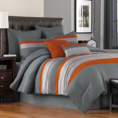Livingston 8-Piece California King Comforter Set