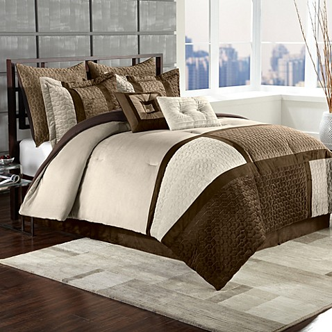 Cheap Clayton 8 Piece Comforter Set by Chic Home ...