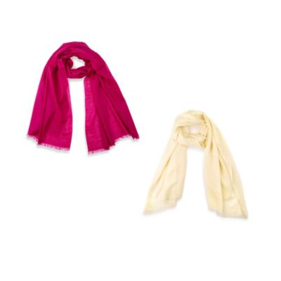 Echo Design™ Solid Wool Wrap with Silk Protein