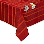 Garnier-Thiebaut Mille Ladies Tablecloth and 4-Pack of Napkins