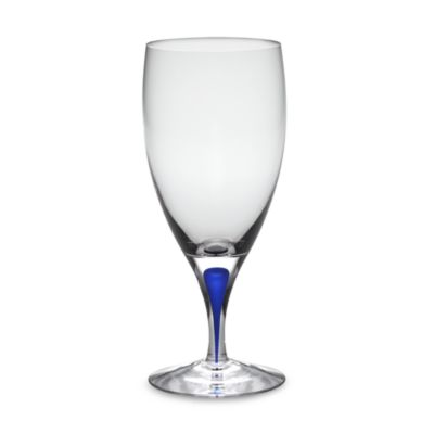 Orrefors Intermezzo Blue 15-Ounce Iced Beverage Glass