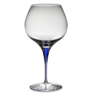 Orrefors Intermezzo Blue 20-Ounce Bouquet Glasses (Set of 2)