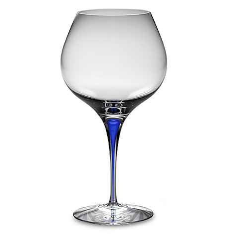 Orrefors Intermezzo Blue 20 oz. Bouquet Glass