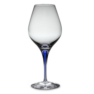 Orrefors Intermezzo Blue 20-Ounce Aroma Glasses (Set of 2)