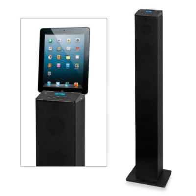 Bluetooth® Tower Speaker with FM Radio