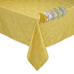 Garnier-Thiebaut Mille Pensees Tablecloth and 4-Pack of Napkins