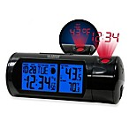 La Crosse® Round Projection Alarm Clock