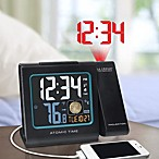 La Crosse® Atomic Projection Alarm Clock