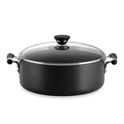 Circulon® Acclaim™ Hard Anodized Nonstick 7.5-Quart Covered Wide Stockpot