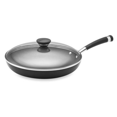 Circulon® Acclaim™ Hard Anodized Nonstick 12-Inch Covered Deep Skillet