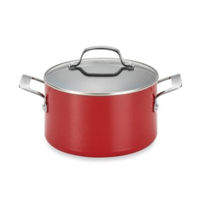Circulon® Genesis™ Aluminum Nonstick 4.5-Quart Covered Dutch Oven