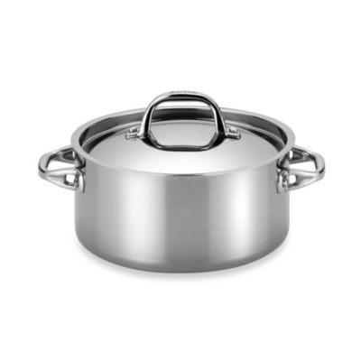 Anolon® Tri-Ply Clad Stainless Steel 5-Quart Covered Dutch Oven