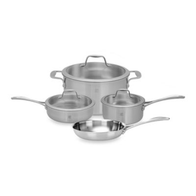 Zwilling J.A. Henckels Spirit 7-Piece Stainless Steel Cookware Set