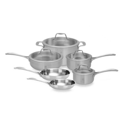 Zwilling J.A. Henckels Spirit 10-Piece Stainless Steel Cookware Set