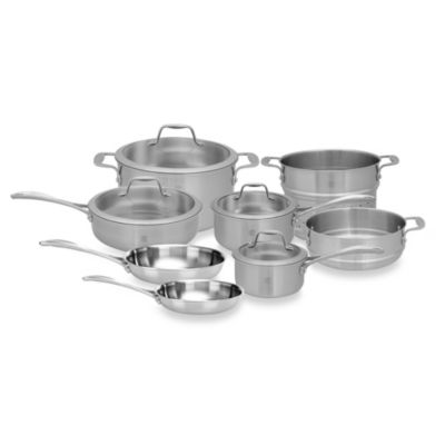 Zwilling J.A. Henckels Spirit 12-Piece Stainless Steel Cookware Set