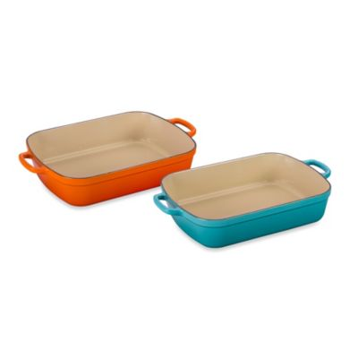 Le Creuset® Signature 5.25 qt. Rectangular Roaster in White
