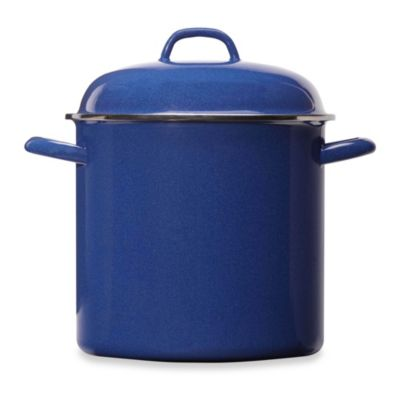Columbian Home Products Grand Epicure 12-Quart Stock Pot in Blue