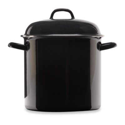 Columbian Home Products Grand Epicure 12-Quart Stock Pot in Black