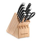 Wusthof® Classic Ikon 10-Piece Deluxe Knife Block Set in Natural