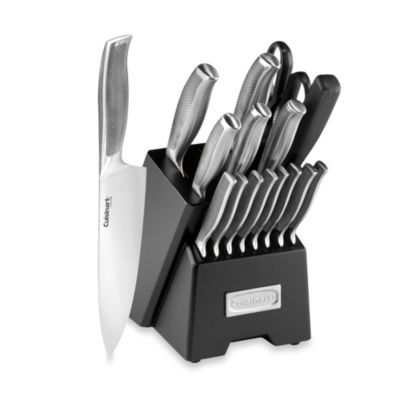 Cuisinart® Classic Impressions Stainless Steel 17-Piece Knife Block Set