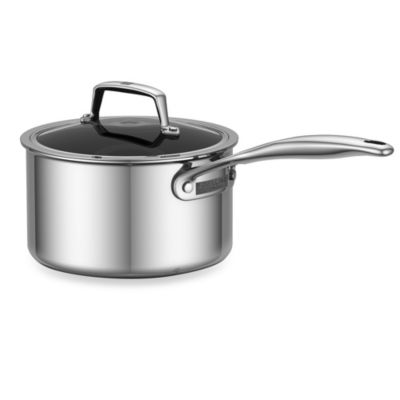 ZWILLING® Energy 3-Quart Ceramic-Coated Stainless Steel Covered Saucepan