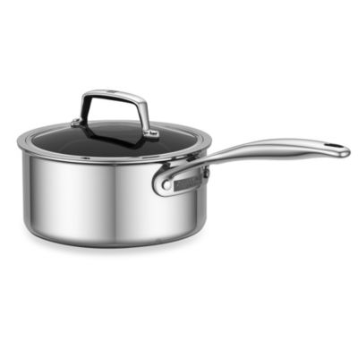ZWILLING® Energy 2-Quart Ceramic-Coated Stainless Steel Covered Saucepan