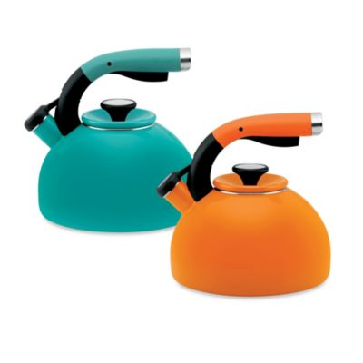 Circulon® Morning Bird 2-Quart Tea Kettle in Mandarin Orange