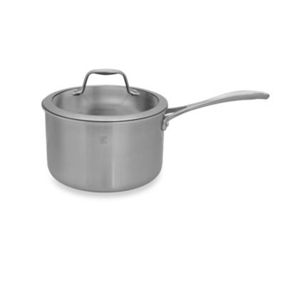 Zwilling J.A. Henckels Spirit 4-Quart Stainless Steel Covered Saucepan