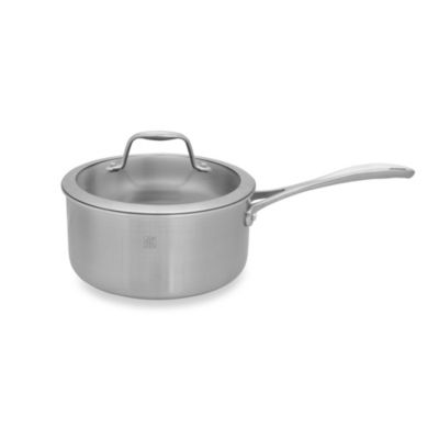 Zwilling J.A. Henckels Spirit 3-Quart Stainless Steel Covered Saucepan