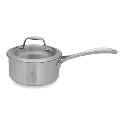 Zwilling J.A. Henckels Spirit 1-Quart Stainless Steel Covered Saucepan