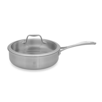 Zwilling J.A. Henckels Spirit 3-Quart Stainless Steel Covered Sauté Pan
