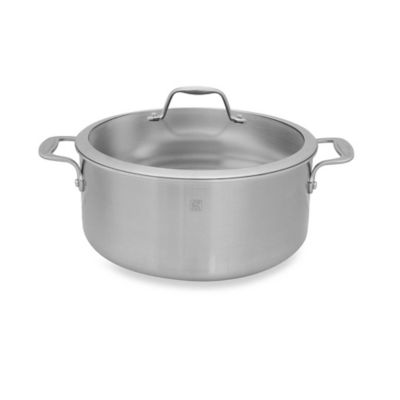 Zwilling J.A. Henckels Spirit Stainless Steel Covered Dutch Ovens