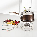 Circulon® Symmetry™ Hard Anodized Nonstick 3.25-Quart Fondue Set in Chocolate