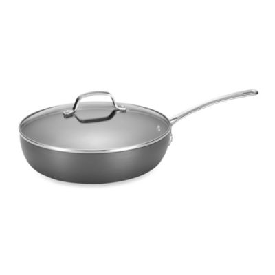 Circulon® Genesis™ Hard Anodized Nonstick 12-Inch Covered Deep Skillet
