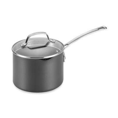 3-Quart Straining Saucepan