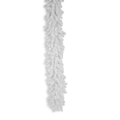 Vickerman 9-Foot x 16-Inch Crystal White Spruce Garland