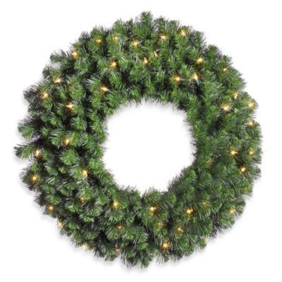 Clear Fir Wreath