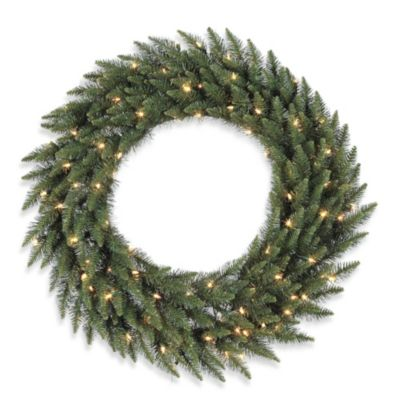 Vickerman 48-Inch Clear Light Camdon Fir Wreath
